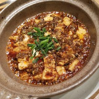 麻婆豆腐土鍋仕立て(JASMINE 和心漢菜)