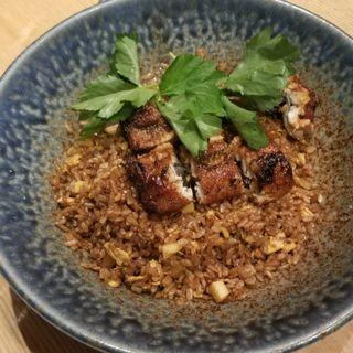 鰻の黒炒飯(JASMINE 和心漢菜)