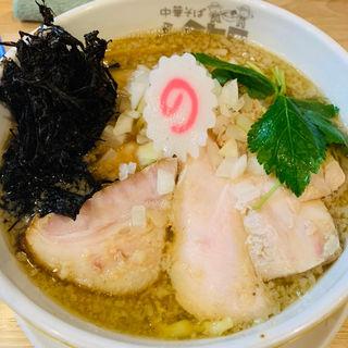 煮干し肉そば(中華そば ムタヒロ 錦糸町店)