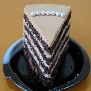 黒胡麻のチョコレートケーキ(洋菓子店slow)