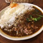 ツナ青菜カレー(なつめコーヒー )