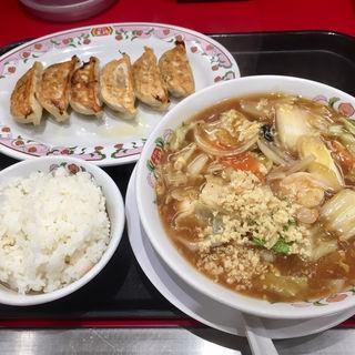 五目あんかけラーメン/フェアセットB(餃子の王将 狸小路5丁目店)