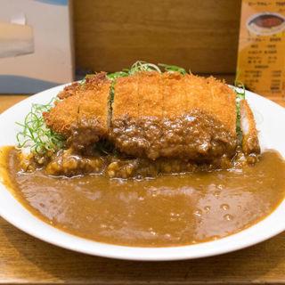 カツカレー+青ネギ(モジャカレー 姫路駅店 )