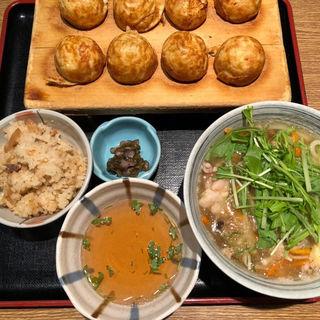 玉子焼き季節のセット(茶房ひまわり イズミヤ洛北店 )