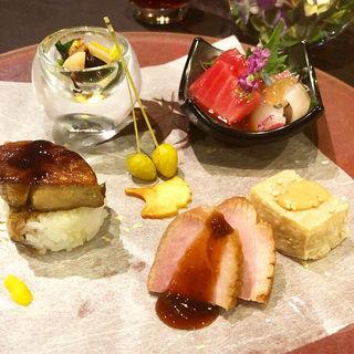 前菜(THE SODOH HIGASHIYAMA KYOTO (ザソウドウ東山京都【旧店名】 THE GARDEN ORIENTAL KYOTO))