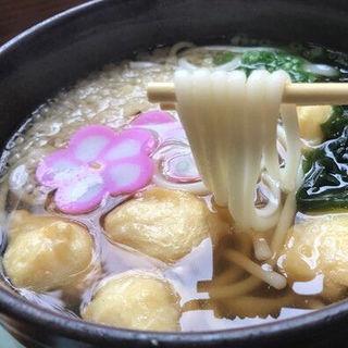 イカボール天うどん(うどん茶屋遊麺三昧 )