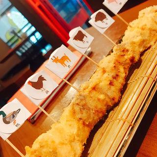6種フライ(鴨屋のビストロ肉酒場 ねぎまplus)