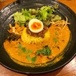 ろかプレート(牡蠣と柿のカレー)