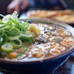 牡蠣づくし玉子あんかけ(丸亀製麺 飾西店 )