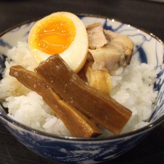 ライス(つけ麺 六芒星)