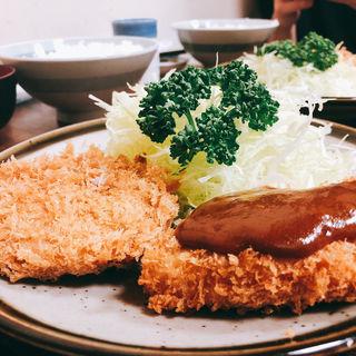 トロかつ+メンチ(とんかつ藤芳 本店 )