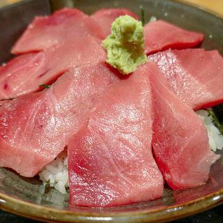 中トロ丼W(鮪小屋本店 ユニモール店 (まぐろごやほんてん))