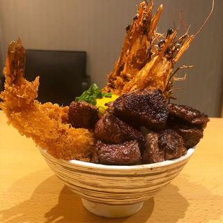 海老とお肉の安土城(祇園花うさぎ)