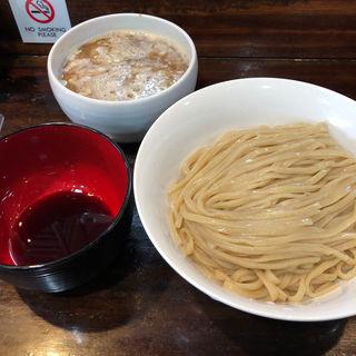 醤油つけめん  4周年記念限定麺(桐麺 )