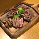 いい肉の日 3種盛り(約330g)