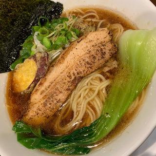 魚だしの中華そば(山麺 )