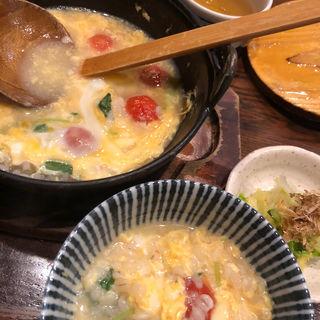 トマトチーズ雑炊(ひよこ家 東心斎橋店 )