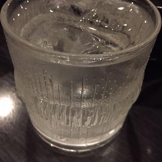米焼酎ロック(おおいし 住吉店 )