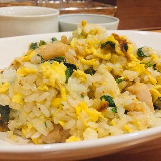 海老と大葉の炒飯
