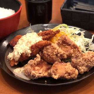 チキン南蛮フライ定食(煌楽 (きらく))