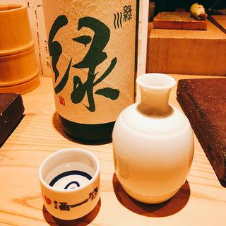 日本酒 緑川(食堂えぶりお )