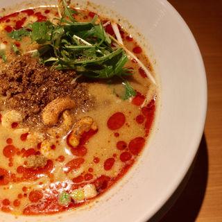 汁あり担担麺/シビれる(175°DENO 担担麺 札幌南口店)