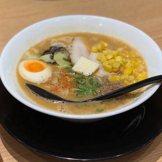 味噌バターコーンラーメン(北野八番亭 クリスタ長堀店 (キタノハチバンテイ))