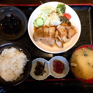 チキンステーキ(博多 酒佳蔵)