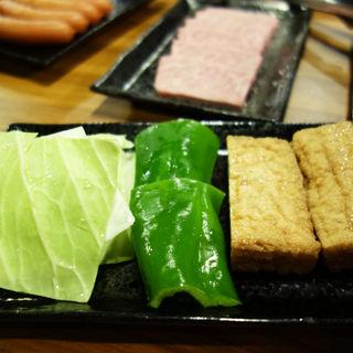 焼き野菜(もつ処 岩見 西新店)