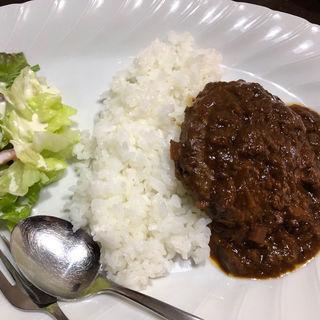 味噌煮込みハンバーグ(ハチノス (HACHINO'S))