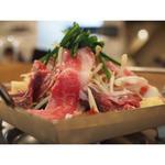 てっちゃん鍋(特選牛盛合せ)(源)