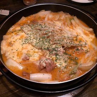 チーズダッカルビ ラージ(こころみダイニング)