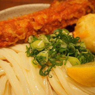 ちく玉天ぶっかけ 冷(JUN大谷製麺処 (ジュンオオタニセイメンショ))