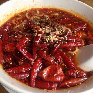 紅麻辣担担麺(蒼龍唐玉堂 六本木店 (ソウリュウトウギョクドウ))