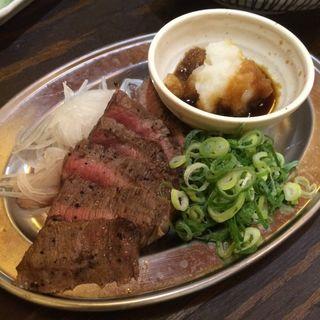 牛ステーキ(大衆酒場 肉処 マルカツ )