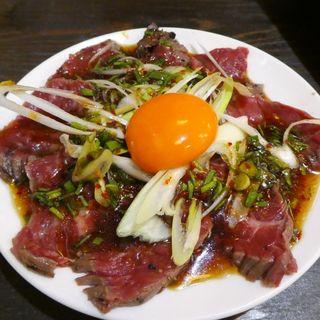 牛ハラミタタキ(大衆酒場 肉処 マルカツ )