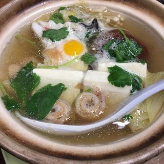 豆腐鍋(大甚 本店 (だいじん))