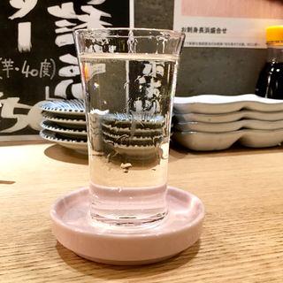 九州の地酒 一杯(長浜鮮魚卸直営店 炉端 魚助)