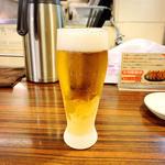 生ビール(百麺 中目黒 (ぱいめん))