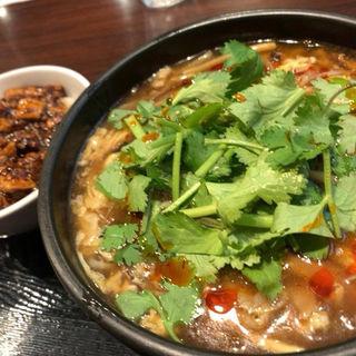 麺+ミニマーボー丼セット 麺標準(炎麻堂 三軒茶屋店 (ENMA-DO))