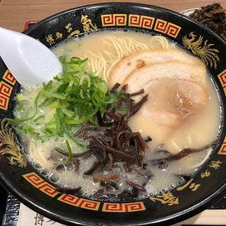 やる氣ラーメン(博多三氣W イオンモール香椎浜店 (ハカタサンキダブリュー))