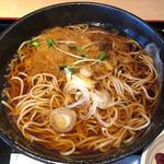 かけ蕎麦(ランチセット)(蕎麦処グレゴリー)