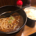 カレーうどんご飯付き(慶屋)