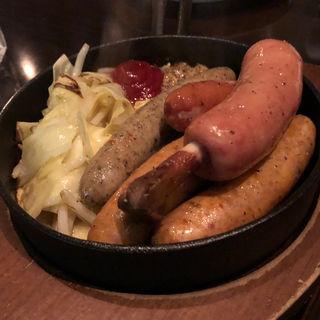 ソーセージ盛り合わせ(Heart Dinin'Bar &K (ハートダイニングバーアンドケー))