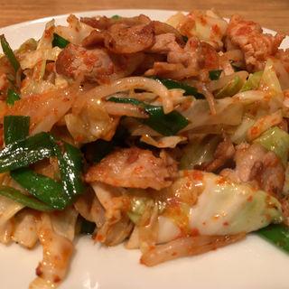 肉野菜炒め ( 激辛ver. )(いそげん )