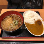 新宿カレーセット(越後そば 小平店 )
