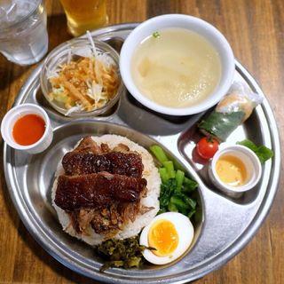 トロトロ豚すね肉の煮込みごはん ランチセット(ペパカフェ・フォレスト (pepacafe FOREST))