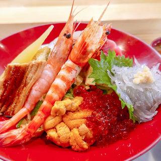 海鮮丼(美乃寿司 (みのずし))