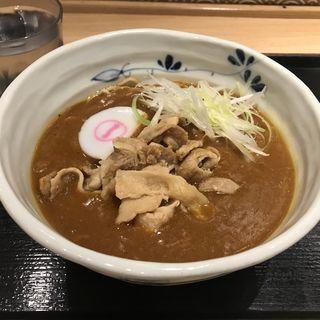玉葱と豚肉のカレーそば(そばいち 神田店 )