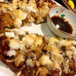海鮮チーズチヂミ